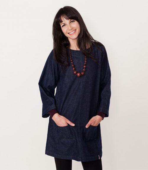 casual smock dress