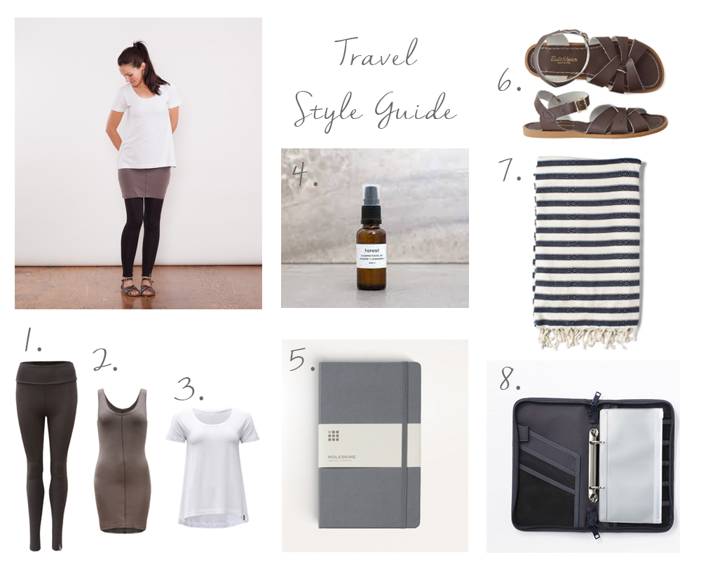 Travel Style Guide and wardrobe