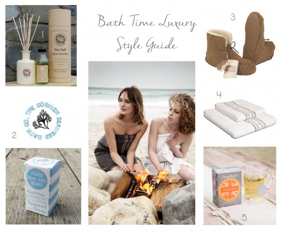 bath time luxury style guide